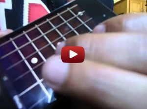 Megadeth guitar solo impressively played on an iPod Touch